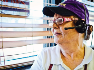 Marion Patton makes $9 an hour working at Braum's in Fort Worth. She's waiting (and hoping) to get full-time work at the ice cream and burger joint. Photo by Jordan Ricaurte.
